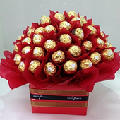more Chocolate Bouquets