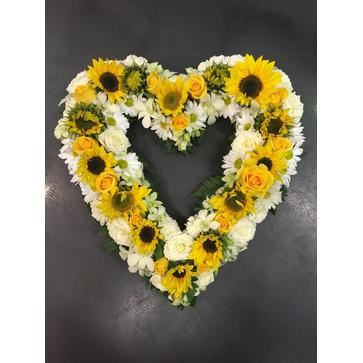more on Heartfelt Sunshine Wreath