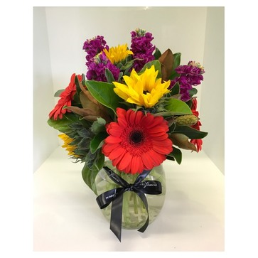 more on Vibrant Bouquet including Vase