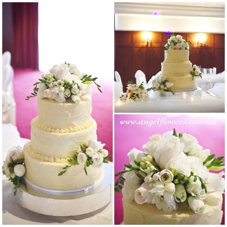 more on White & Cream Cake Flowers