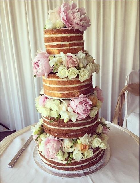 more on Naked Cake Flowers