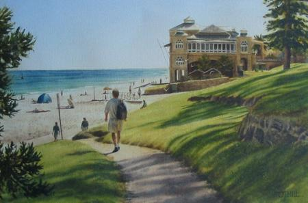 Winter Morning, Cottesloe - Image 1