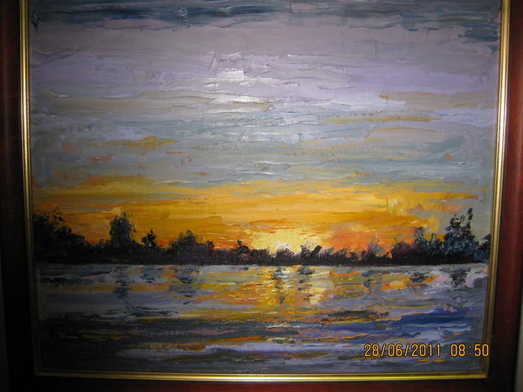 ord river at sunset - Image 1