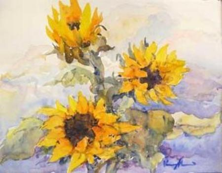 Sunflowers Dreaming - Image 1