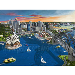 more on Sydney Harbour - Limited Edition Canvas Print