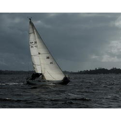 more on Sailing in a Winter Squall, Swan River