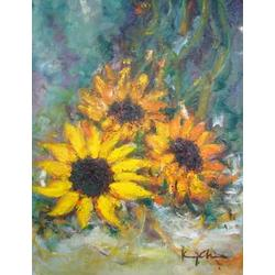 more on Sunflowers