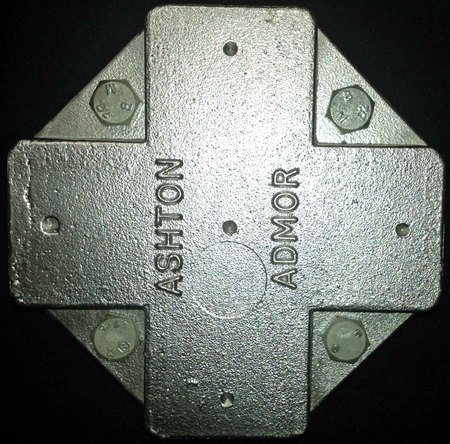 AB3090  ASHJUNCTION Four way aluminium Junction Box - Image 1