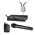 more on audio-technica  System 10 Pro  Dual Hand Held Wireless Microphone System