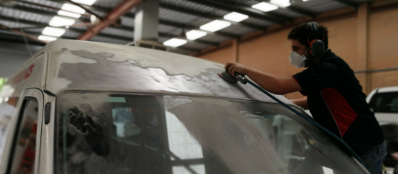 Panel Paint and Smash Repairs for Proton Wira