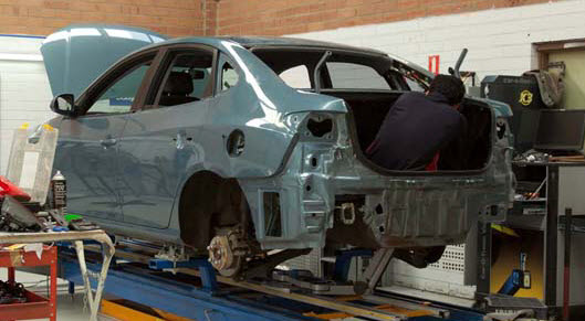 Smash Repairs for many vehicles including Lamborghini Islero
