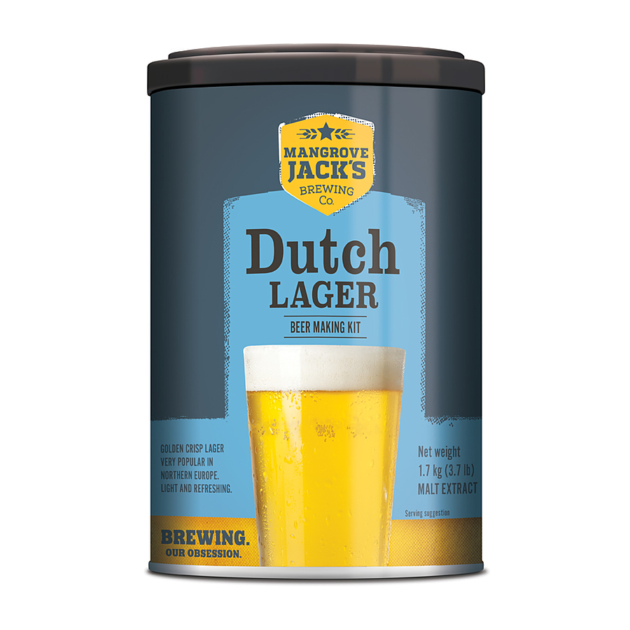 Mangrove Jacks Dutch Lager 1.7Kg - Image 1