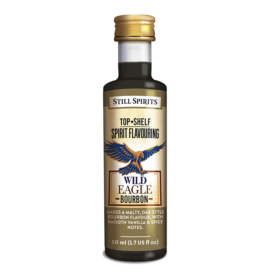 Still Spirits Top Shelf Wild Eagle Bourbon 50ML - Image 1