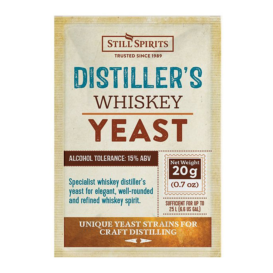 Distillers Whisky Yeast 20g - Image 1