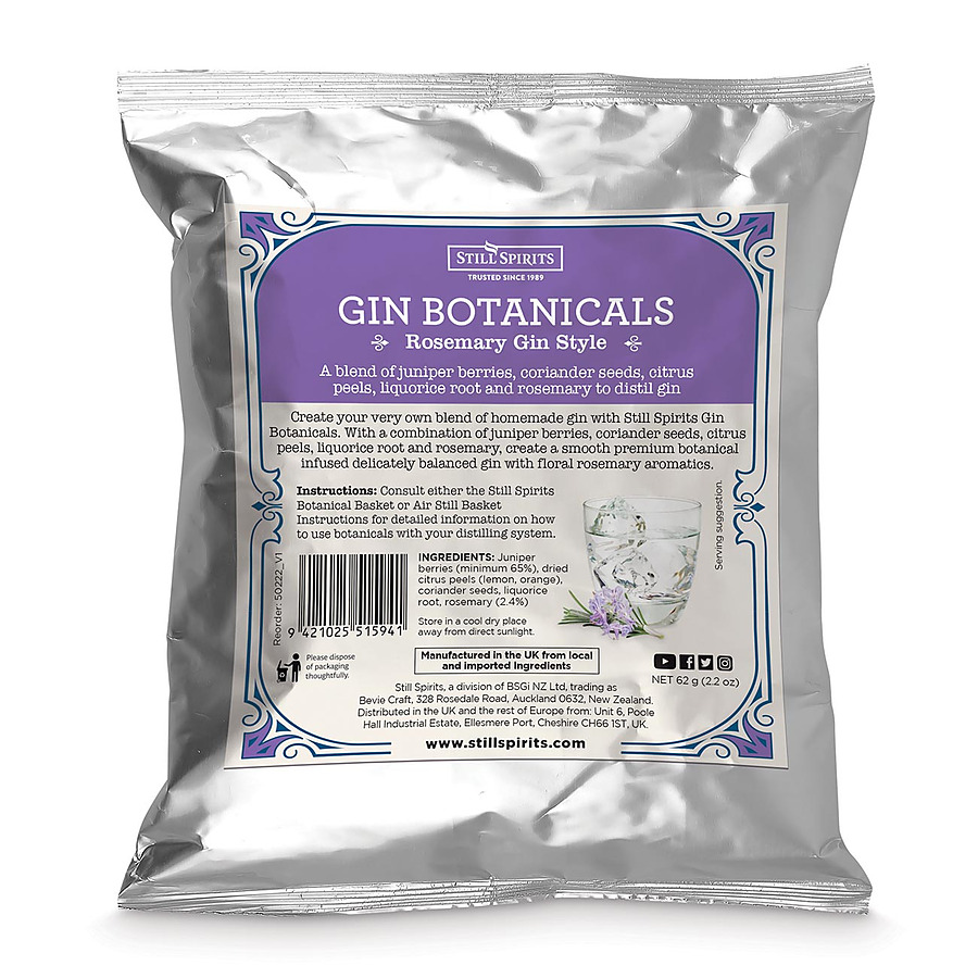 Still Spirits Rosemary Gin Botanicals Kit - Image 1