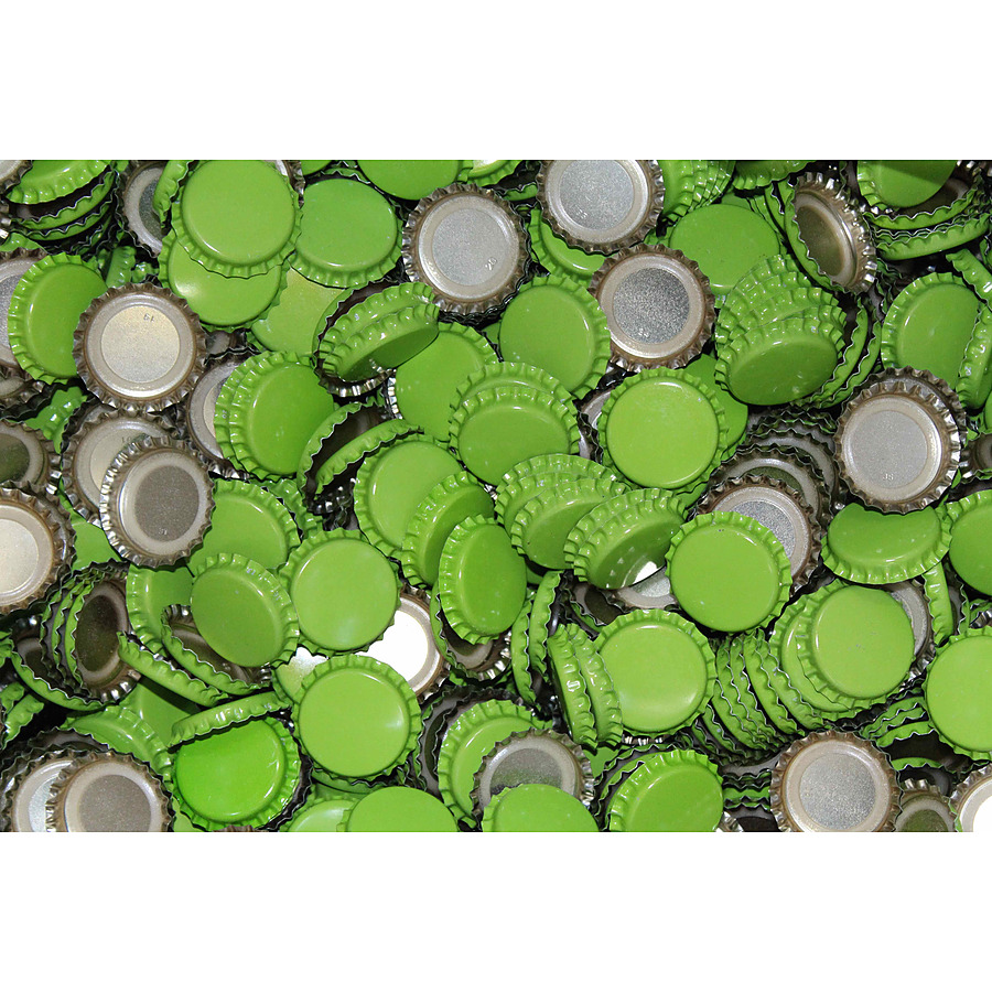 Crown Seal 26mm Ctn 10,000 (Beer Bottle) Green - Image 1