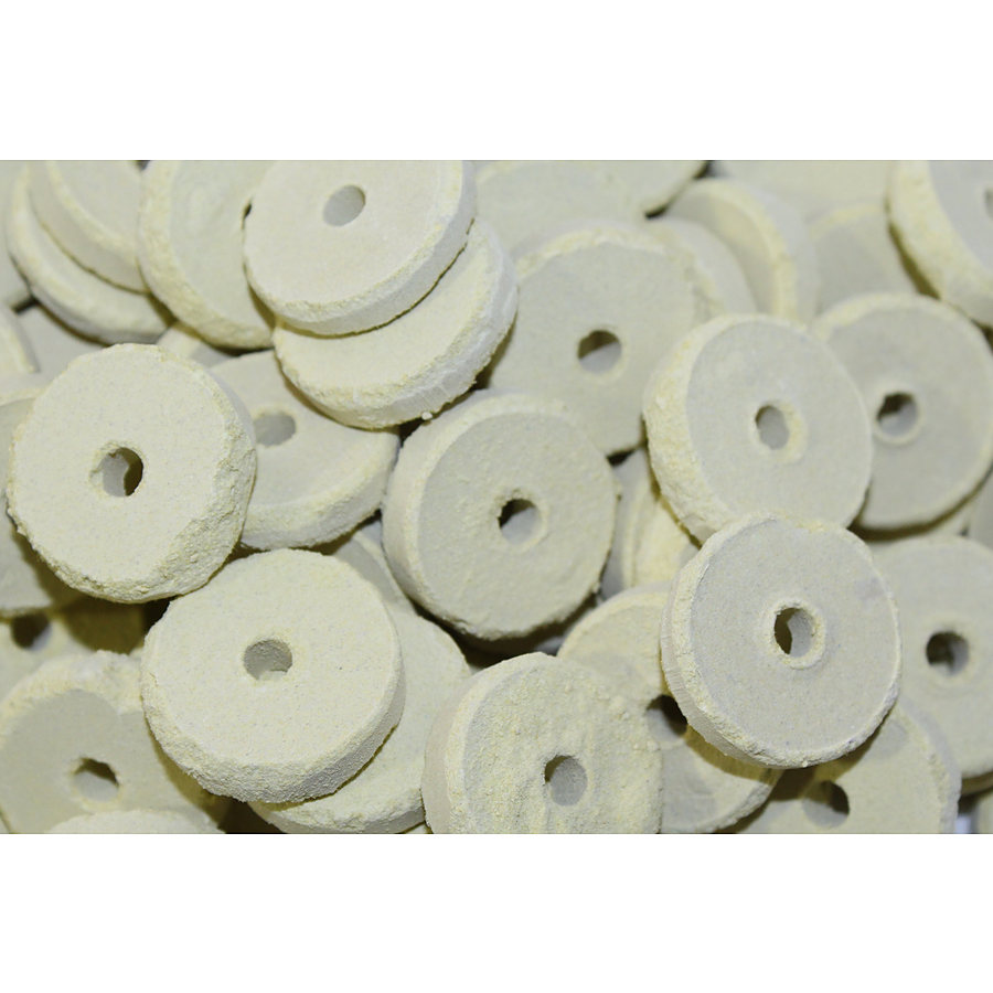 Sulphur Tablet Rings 1Kg (Approx 40 Tablets) - Image 1
