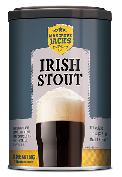 Mangrove Jacks Irish Stout 1.7Kg - Image 1