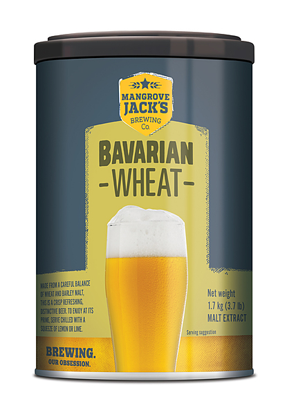 Mangrove Jacks Bavarian Wheat Beer 1.7Kg - Image 1