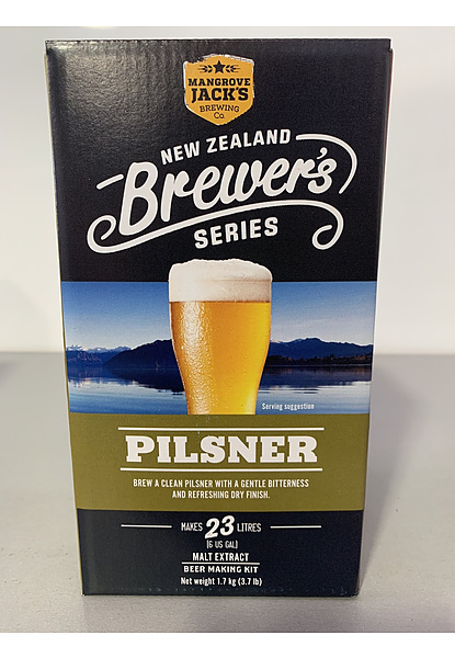 Mangrove Jacks Brewers Series Pilsner 1.7Kg - Image 1