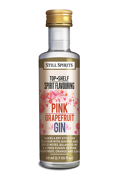 Still Spirits Pink Grapefruit Gin 50ML - Image 1