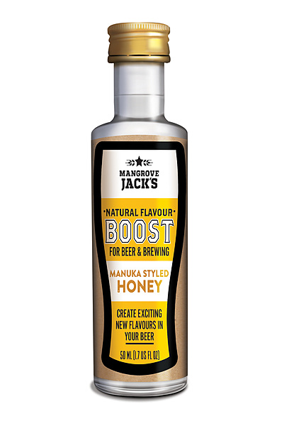 Mangrove Jacks All Natural Beer Flavour Booster Honey Manuka 50ML - Image 1