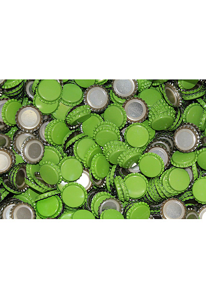 Crown Seal 26mm 100Pk (Beer Bottle) Green - Image 1
