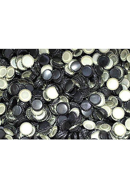 Crown Seal 26mm Ctn 10,000 (Beer Bottle) Black - Image 1