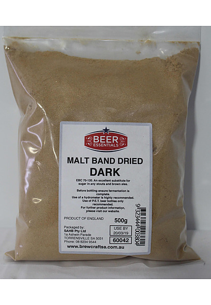 Band Dried Dark Malt 500G - Image 1