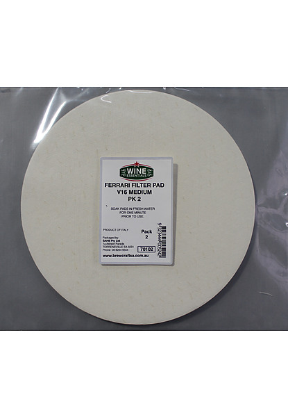 Filter Pads - Medium 2 Pk - Image 1