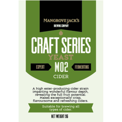 more on Cider Yeast M02 9G