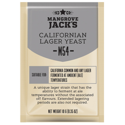 more on Mangrove Jacks M54 Californian Lager - Craft Series Yeast - 10G