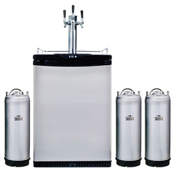 more on Kegerator 3 Font Plus 3 X 19 Litre Kegs