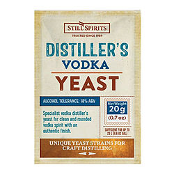 more on Distillers Vodka Yeast 20g