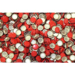 more on Crown Seal 26mm 100Pk (Beer Bottle) Red