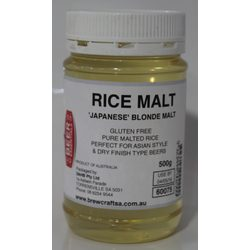 more on Blonde Rice Malt 500G