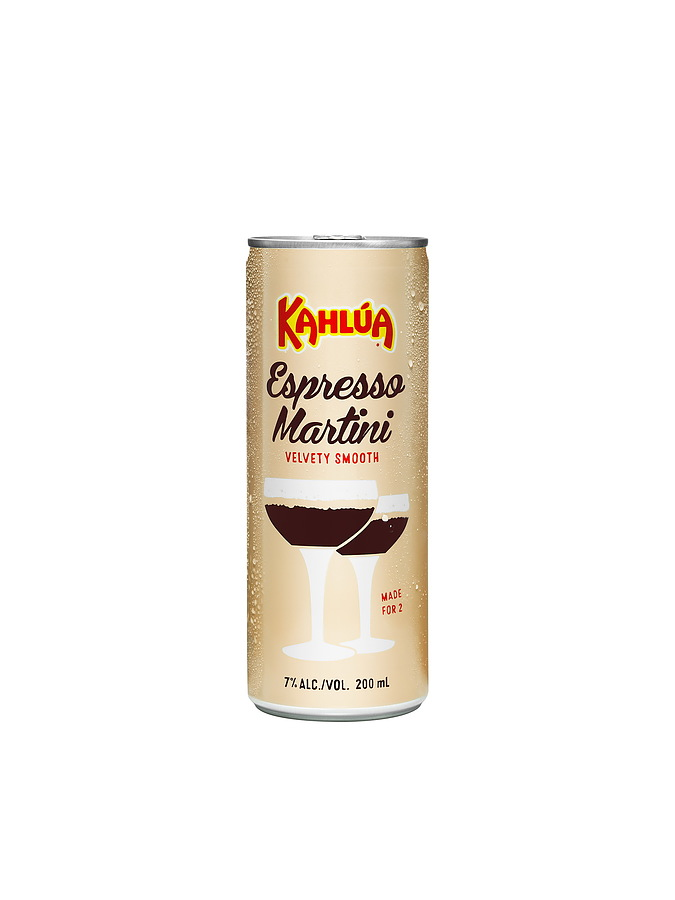 Kahlua Espresso Martini 7% Can 200ml - Image 1