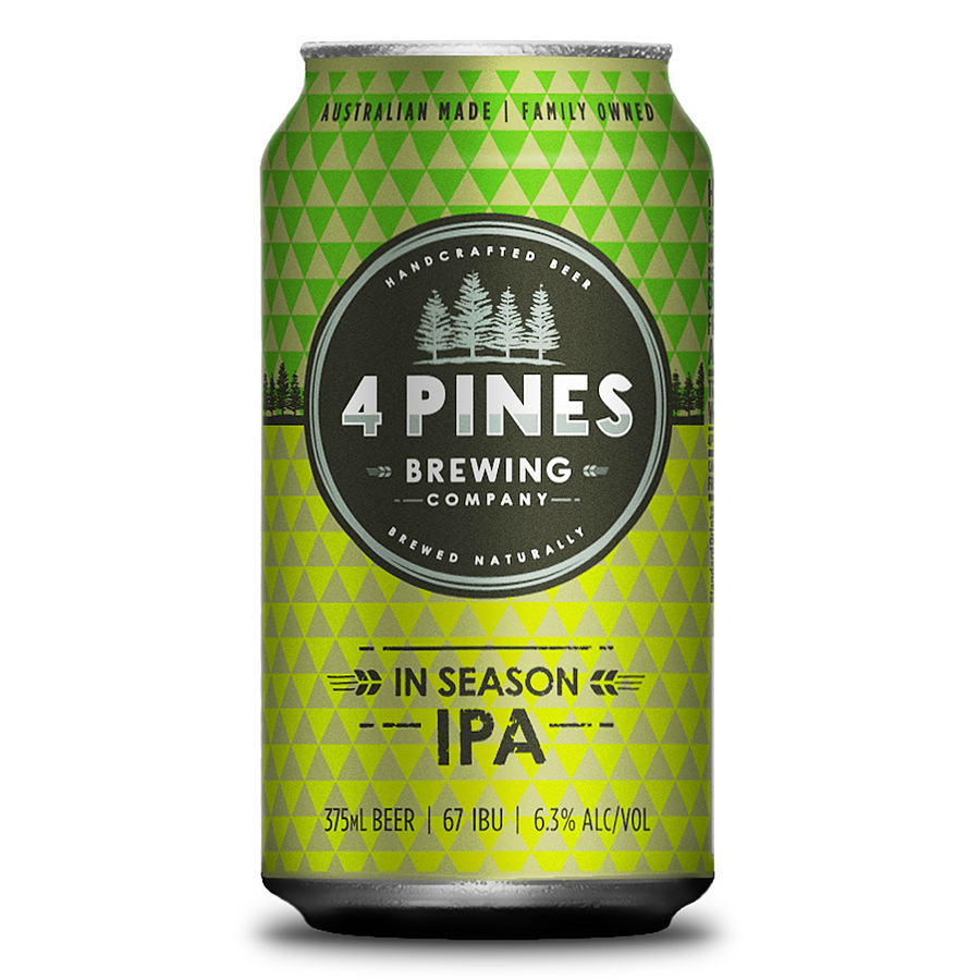4 Pines In Season Ipa 6.3% Can - Image 1