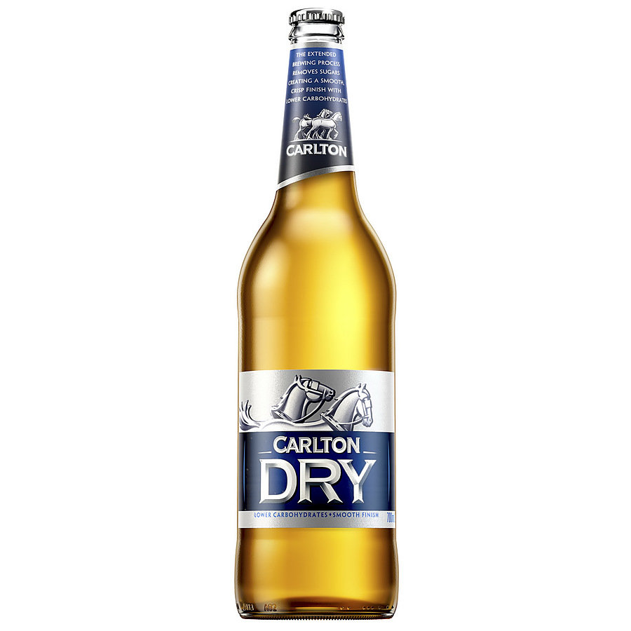Carlton Dry Bottle 700ml - Image 1