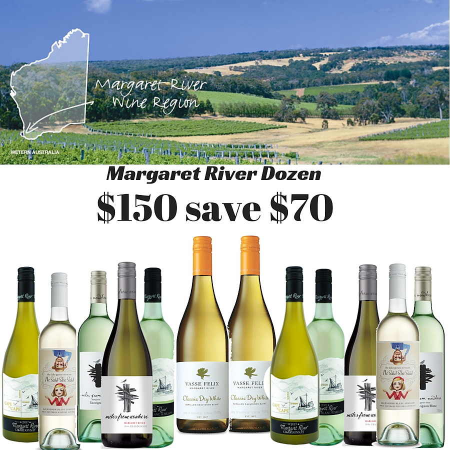 Margaret River Mixed Dozen Wines - Image 1