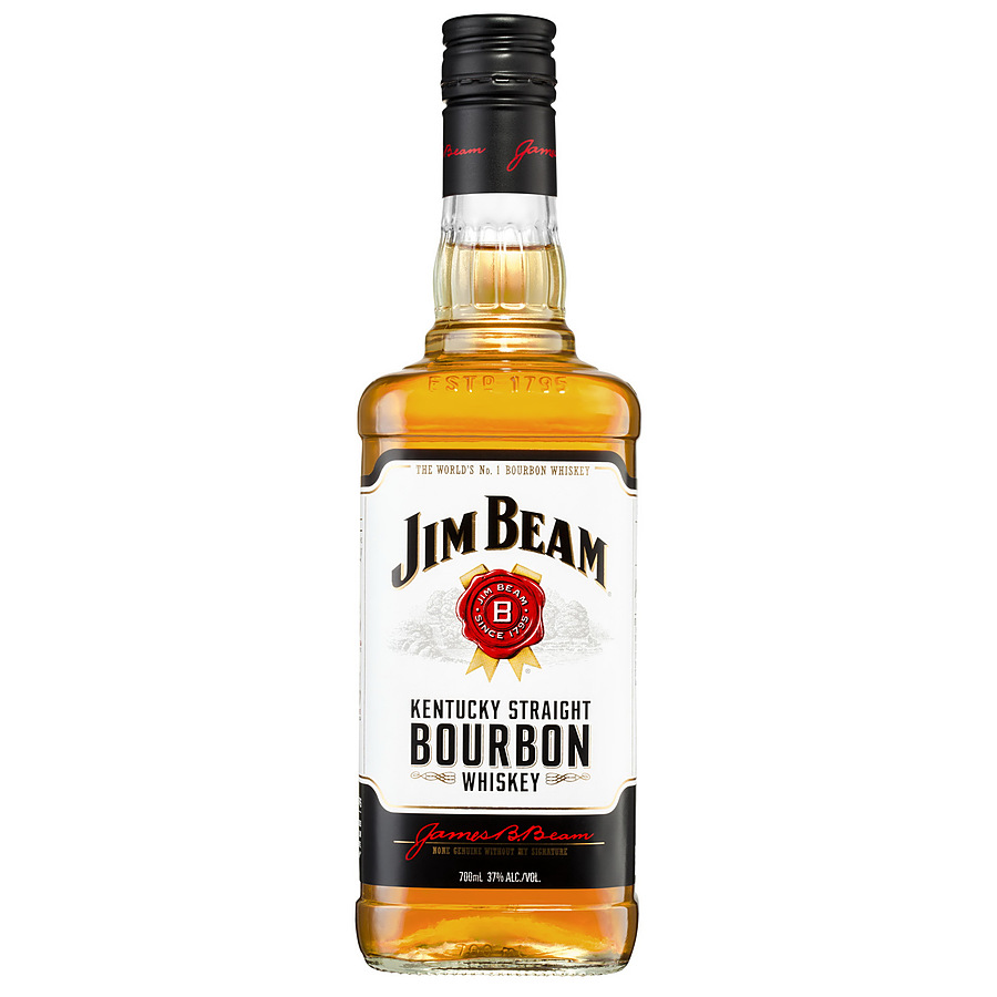 Jim Beam White Label Bourbon 700ml - Image 1