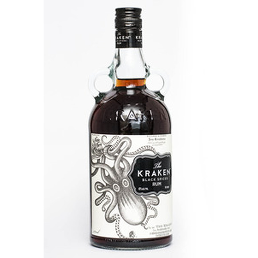 Kraken Black Spiced Rum 700ml - Image 1