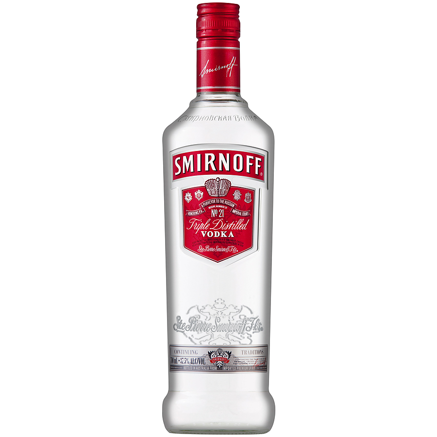 Smirnoff Red Label Vodka 700ml - Image 1
