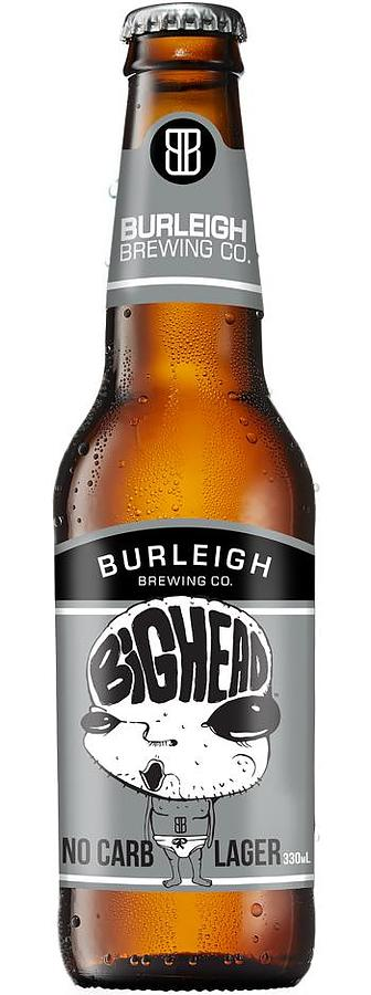 Burleigh Big Head No Carb 4.2% Lager 330 - Image 1