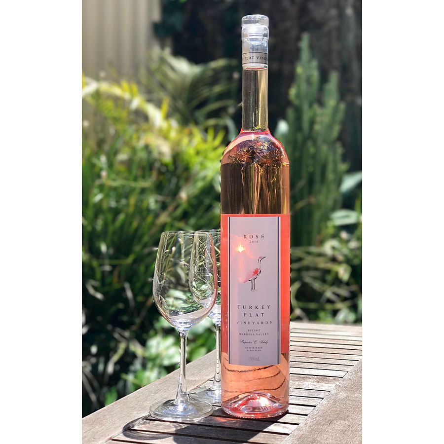 Turkey Flat Rose 2019 Magnum 1.5 Litre - Image 1