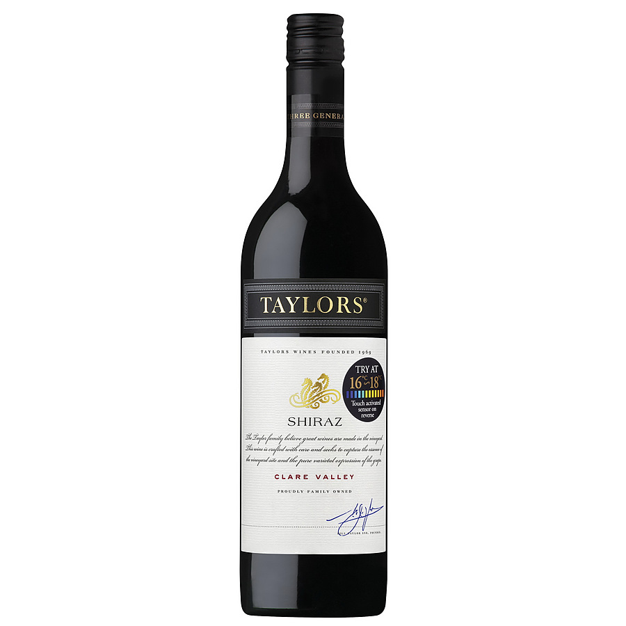 Taylors Estate Shiraz 750ml - Image 1