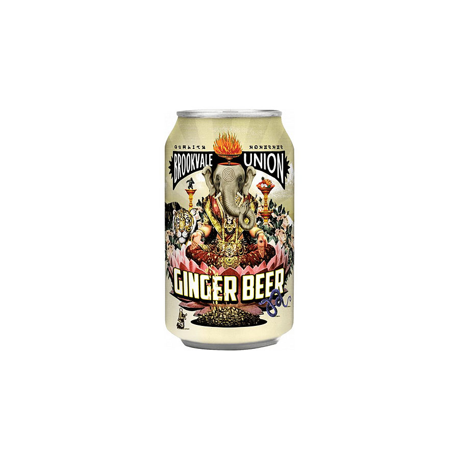 Brookvale Union Ginger Beer 4% Can 330ml - Image 1