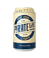 more on Pirate Life Port Local Lager 355ml Can