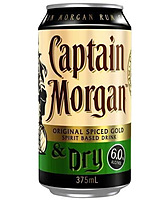 more on Captain Morgan Spiced Gold And Dry 6% Can