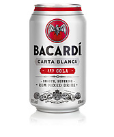 more on Bacardi 4.5% And Cola 375ml Can